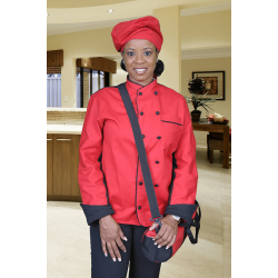 Red Chef Jacket
