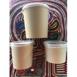 Paper Soup Cups With Lids