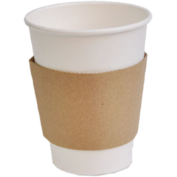 Biodegradable Paper Cups With Sleeves
