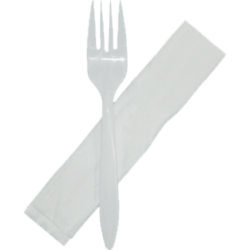 Fork and Napkin Combo